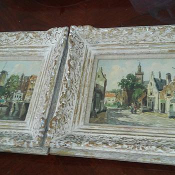 1900. century dutch painthings - Fine Art
