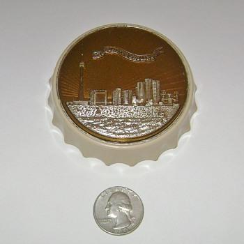 Toronto Skyline Bottle Opener