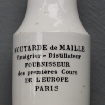 ~~~1870's French Mustard Jar~~~ - Bottles