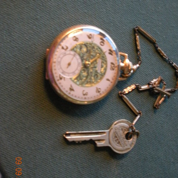 Pocket Watch with key   - Pocket Watches