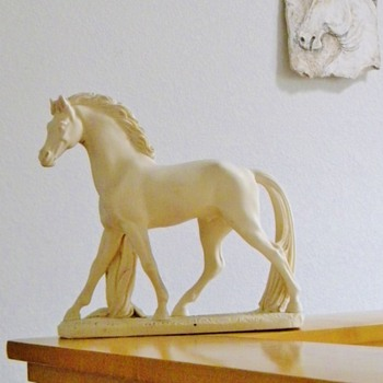 Cavallo Zalpio Horse Statue Vintage  - Animals
