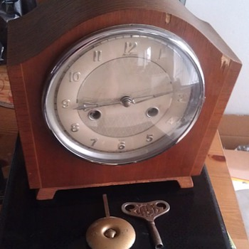 Vintage Bentima 8 Day Great Britain Clock