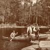 River Fishing in Canada - circa 1917