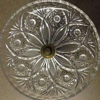 L & L WMC pedestal ashtray  - Glassware