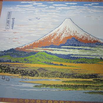 """Hokusai Katsushika Original """"100 Views of MT. Fuji"""""""