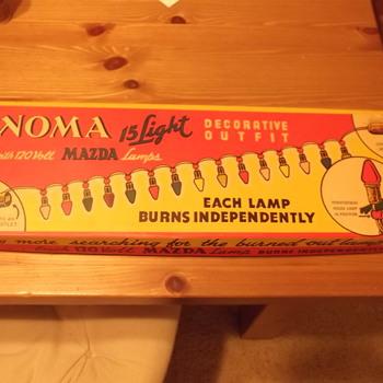 Vintage Noma Christmas Lights - Christmas