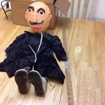 paper mâché puppet   - Toys
