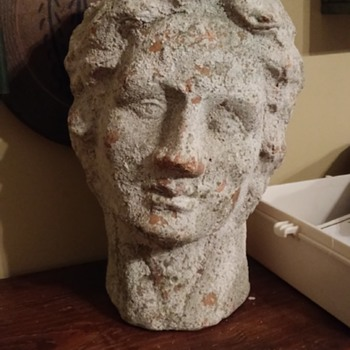 greek god or goddess bust - Fine Art