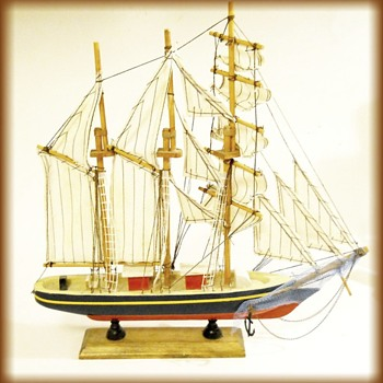 Wood Boat Ship - Unknown - Toys
