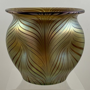 Loetz Bronce Phänomen Genre 7501 Vase, PN unknown, ca. 1899 - Art Glass