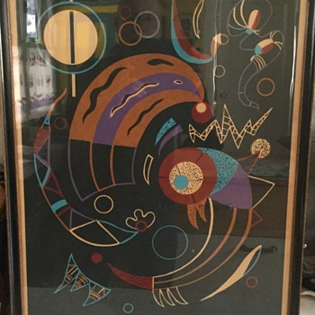 Kandinsky comets print - Posters and Prints