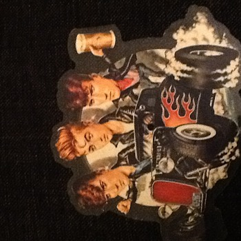 "Stray Cats 7"" shaped picture disc and some others"