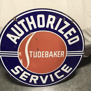 Studebaker dealer sign  - Signs