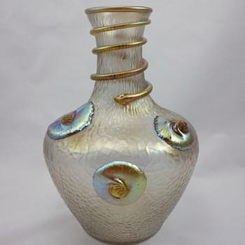 Loetz Nautilus Vase - Art Glass
