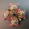 Emmons Maltese Cross brooch