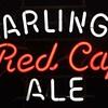 Carlings Red Cap Ale neon