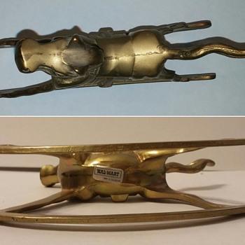 Brass Rocking Horse - Toys