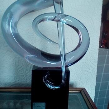 Cyrano Arte80 treble clef - Art Glass