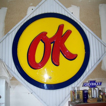 OK used cars  - Signs