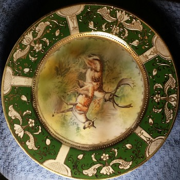 Hand painted plate - China and Dinnerware