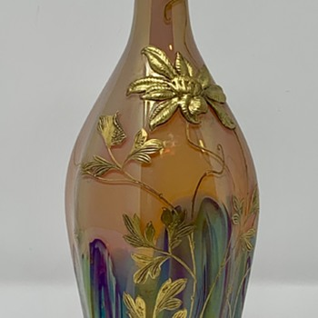 "Harrach, Neuwelt ""Hekla"" Carafe, PN 1902/1, ca. 1900-1905 - Art Glass"