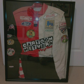 Cartoon network Firesuit for pit crew 1998 vintage - Sporting Goods