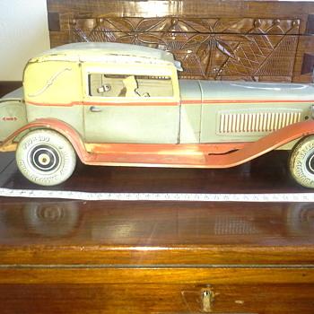 German vintage tin model - Model Cars