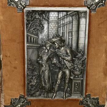 Art Metal Sculpture framed - Fine Art