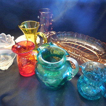 More Glass and Pottery - Art Glass