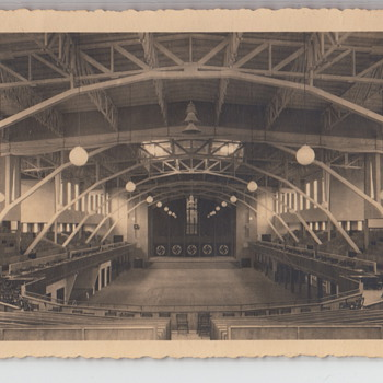 Nibelungenhalle Conference Hall? Nazi Ballroom? - Postcards