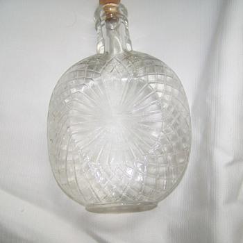antique flask - Bottles