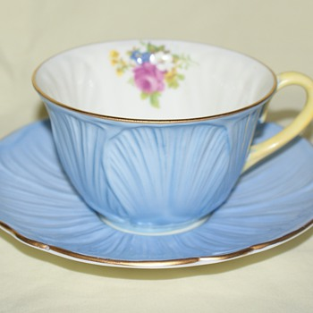 Cup and Saucer:  Shelley - China and Dinnerware