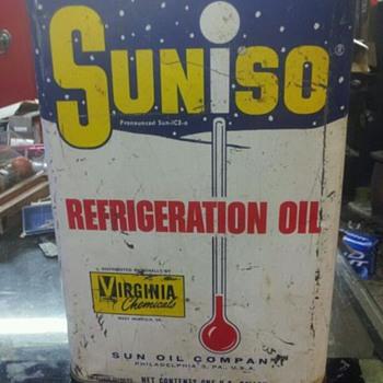 one gallon sunoco can - Petroliana