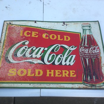 ice cold Coca Cola dated 1936  - Coca-Cola