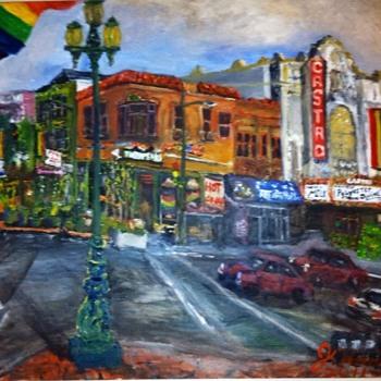 17th & Castro street.  - Fine Art