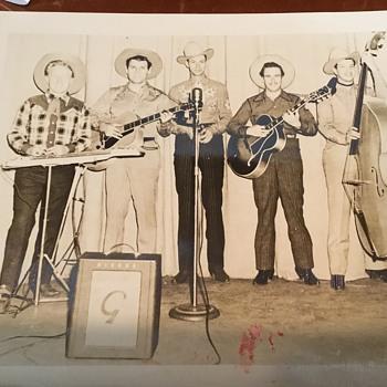 Early Photo of Hank Williams Sr.  - Music Memorabilia