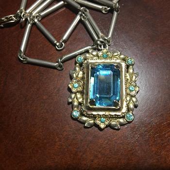 Vintage necklace Coro?? - Costume Jewelry