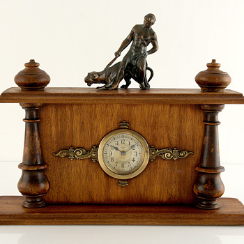 Mauthe Historism Clock, Late 1800's, Koln Germany