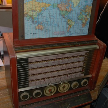 Beautiful 1956 Stomberg Carlson Trans-Oceanic Radio model AWP-8 - Radios