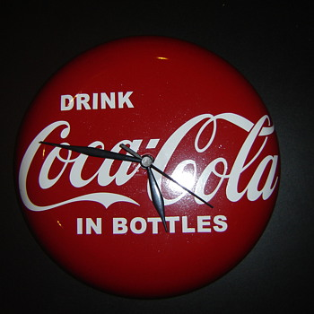 "Newest ""coca-cola""clock! - Coca-Cola"