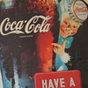 "Coca-Cola ""Sprite Boy' Stryofoam Poster"