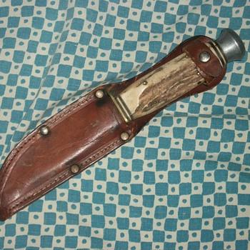vintage othello / anton wingens jr. stag knife.