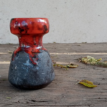 Mid-Century Dutch Ceramic Vase - Pottery