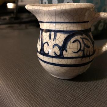 SMALL POTTERY CREAMER - Pottery