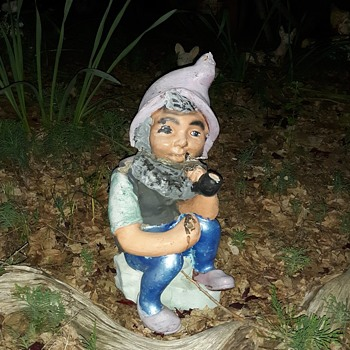 Still Yet Another Concrete Lawn Gnome - Figurines