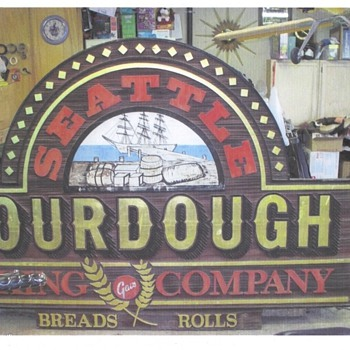 Seattle Sourdough Bakery  Sign  (Gai's Bakery) - Signs