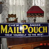 Mail Pouch Porcelain Sign...Three Colors...1930's