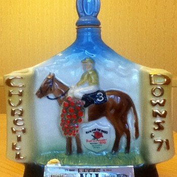 Churchill Downs Vintage Decanter - Bottles