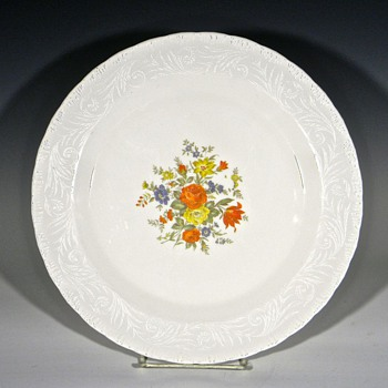 Help Identifying a large Opaque White Glass Plate - China and Dinnerware