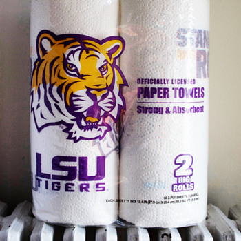 LSU Paper Towel Rolls.... - Football